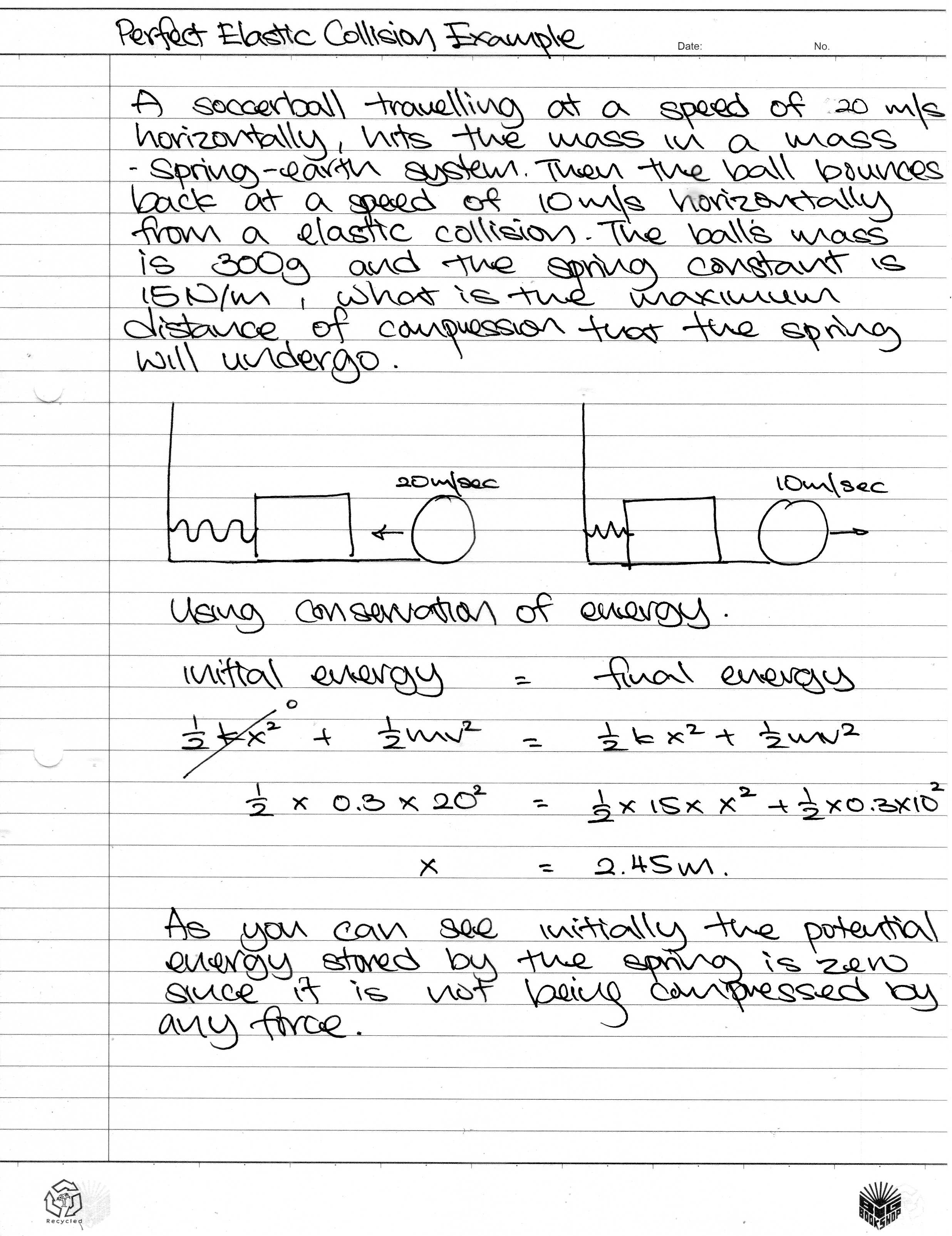 essay about momentum The grade 12 physical science learners at penryn college were tasked with carrying out an experiment to investigate the effect of collisions on momentum different mass pieces (500g 1kg and 15kg) were dropped on a moving trolley and the learners observed the velocity of the trolley before the mass.